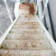 Stock Photo: Rusty Stairway