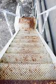 Rostig trappa — Stockfoto