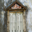 Window of ruin temple,Thailand — Stock Photo