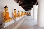 Buddga zabytków w tajlandii — Zdjęcie stockowe