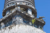 Stupa budista em phattalung, tailândia — Foto Stock