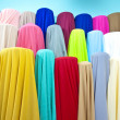 Colorful fabric samples — Stock Photo #28603149