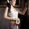Portrait of Thai woman — Stock Photo