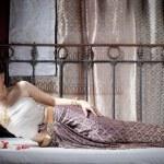 Gorgeous asian woman in thai dress — Stock Photo #28705287