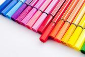 Plumas de color — Foto de Stock