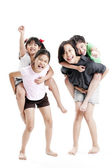 Kleine meisjes spelen — Stockfoto
