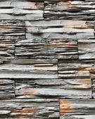 Black stone wall — Stock Photo