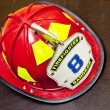 Fireman helmet — Stock Photo
