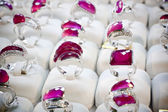Jewellery rings — Stockfoto