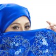 Fashion photo of Muslim woman — Stock Photo