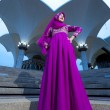 Muslim woman fashion concept — Stock Photo