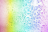 Abstract water drops — Stock Photo