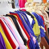 Choice of fashion clothes — Stock Photo