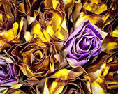 Abstrakt bakgrund av rosor — Stockfoto