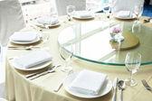 Table setting — Fotografia Stock