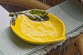 Ceramic plate — Stock Photo
