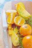 Cut fruits — Stock fotografie