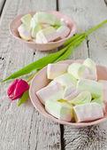 Sweet marshmallows — Stock Photo
