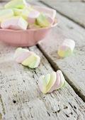 Soft marshmallows — Stock Photo
