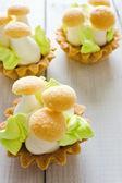 美しいのクリーム ケーキ — ストック写真