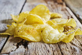 Crispy potato chips  — Stock Photo