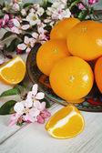 Dojrzałych pomarańczy — Zdjęcie stockowe