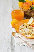 Healthy breakfast foods — Stock Photo