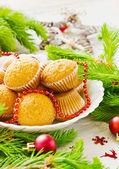 Christmas cakes — Stockfoto