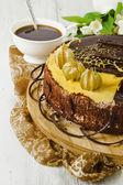 Celebración de chocolate — Foto de Stock