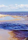 Plage de la mer Baltique — Photo