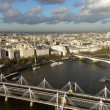 Stock Photo: London panorama, view from above