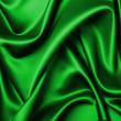 Green silk abstract background — Stock Photo