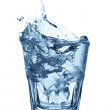 Stock Photo: Glass of mineral water