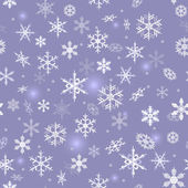 Snowflake background — Vector de stock