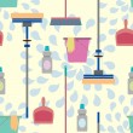 Domestic Tools — Stock Vector