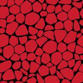 Pedras vermelhas — Vetor de Stock