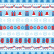 Holiday pattern — Stock Vector