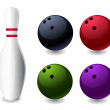 Bowling — Stock Vector #28584439