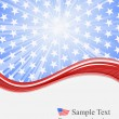 Stock Vector: 4th july independence day background