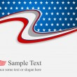Independence day american background — Stock Vector