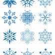 Snowflakes set — Stock Vector #28587095