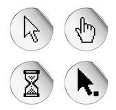 Cursor de pixel — Vector de stock