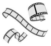 Rouleau de bande de film — Vecteur