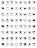 Web icon set — Stock Vector
