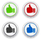 Thumbs up - i like icon — Stock Vector