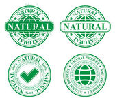 Natural produc stamp — Stock Vector