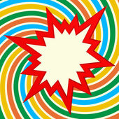 Splash star abstracr festive background — Stock Vector