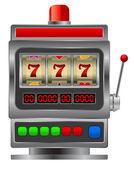 Slot machine — Stock Vector