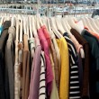 Stock Photo: Second hand clothing