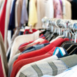 Second hand clothing — Stock Photo #27557343